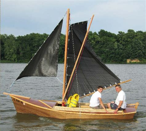 Sailing Boat Plans by Easy To Build Sailing Sharpie Dory Wood Boat Plans Boats