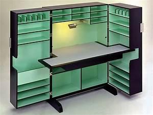 Sekretär Modern Design : sekret r mit linoleumbeschichteter schreibplatte ~ Watch28wear.com Haus und Dekorationen