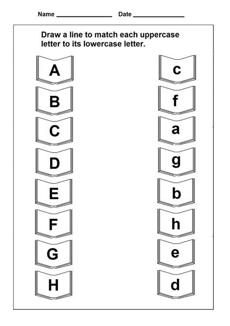 Uppercase And Lowercase Alphabet  Kiddo Shelter