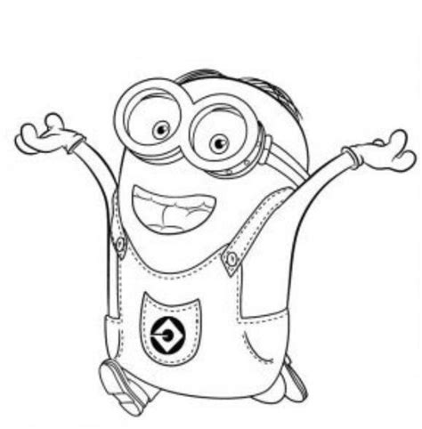 Free Minion Coloring Pages Bestofcoloringcom