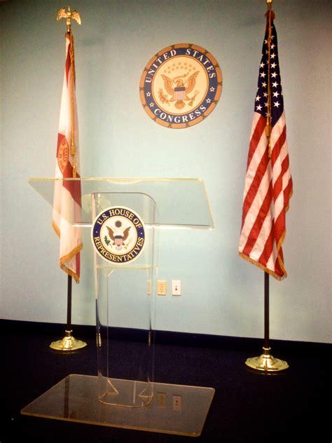 podium drape podiums lecterns rentals audio visual miami outsource