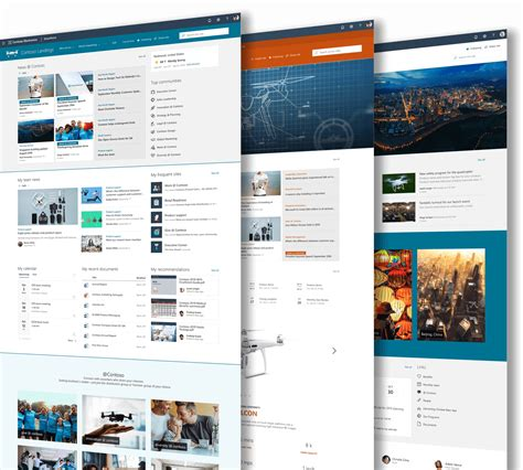 SharePoint Page Layout Examples