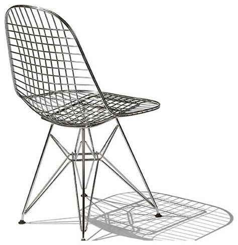 eames wire chair herman miller modern dining chairs