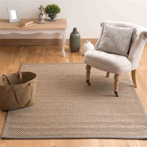 maison du monde tappeti tappeto intrecciato beige in sisal 160 x 230 cm bastide