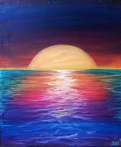 Colors of an Ocean Sunset Thursday, 26th 6:00-9:00   Art ...