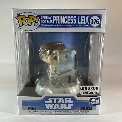 Funko POP Star Wars Deluxe PRINCESS LEIA #376 Battle at ...