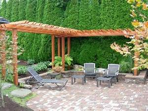 l shaped arbour 11 ways to arrange your backyard With creative ways to arranging your small yard landscaping