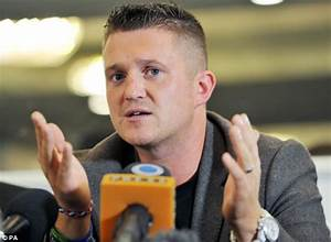 Former EDL leader Tommy Robinson to help police track down 'racists' | Daily Mail Online