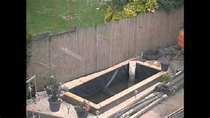 Jardin Avec Bassin : bassin de jardin ko 2015 2016 bassin moderne avec filtration ruissellement youtube ~ Melissatoandfro.com Idées de Décoration