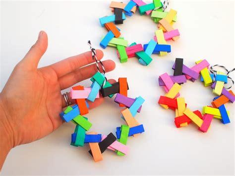 origami paper christmas tree ornaments diycandycom