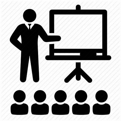 Lecture Icon Presentation Teaching Instructor Demo Tutorial