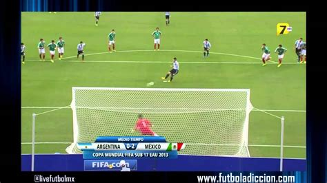 Penalti Atajado Por Gudiño México Vs Argentina