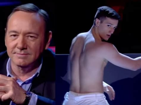 Watch Dancers Strip For Kevin Spacey