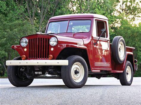old jeep 2014 vintage pickup trucks calendar hemmings motor news