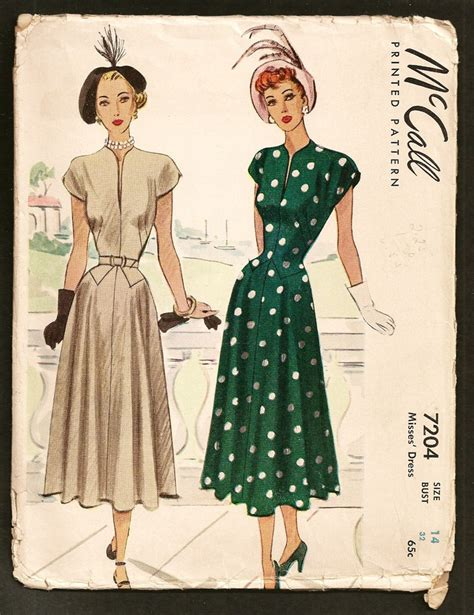 vintage  mccalls sewing pattern lucille ball dress