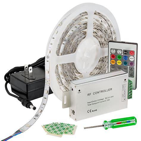 led video light kit rgb led strip light kit 12v led tape light 122 lumens