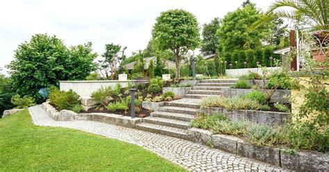 Garten Am Hang Ideen Bilder by Pool Steinmauer Garten Hang Garten Garden