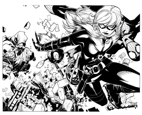 Comics Forever, Spider-man And The Black Cat Interior Art