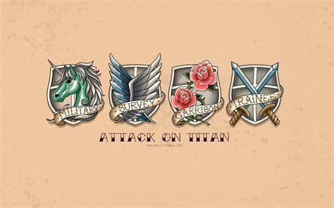 attack on titan laptop wallpapers