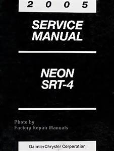 2005 Dodge Neon Factory Service Manual Original Shop