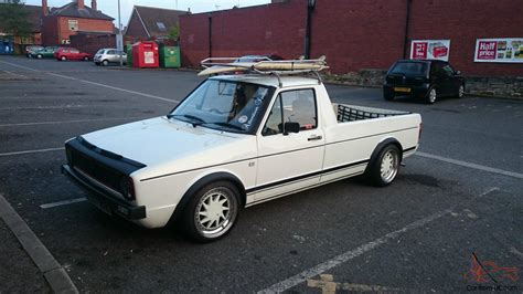 volkswagen caddy pickup mk1 vw caddy mk1 pick up