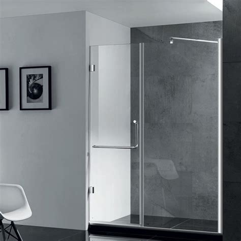 glass shower enclosure paragon bath prima frameless shower door in chrome size