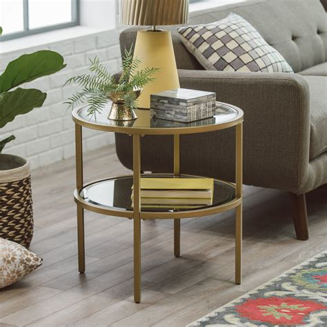 Living Room Tables For Sale by Belham Living Lamont End Table Gold From