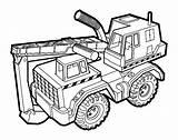 Shovel Bouwvoertuigen Flevokids Voertuigen sketch template