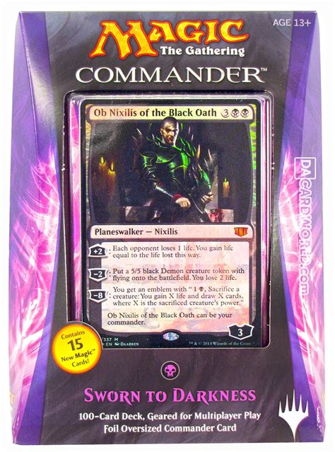 Mtg Commander Decks 2014 by Magic The Gathering Commander Deck Box 2014 Da Card World