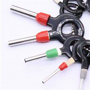 18x Car Wire Harness Plug Terminal Extraction Pick Connector Pin Remove Tool S A 800001205998