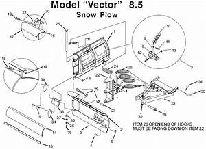 meyervplowcom meyer ez vector v plow exploded view and With meyer plow parts