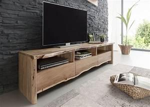 Tv Board Holz Massiv : tv board modern aus akazie holz lackiert ~ Bigdaddyawards.com Haus und Dekorationen