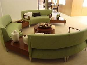 Sofa Runde Form : 70 modelle f r couchtisch und esstisch rund freshouse ~ Lateststills.com Haus und Dekorationen