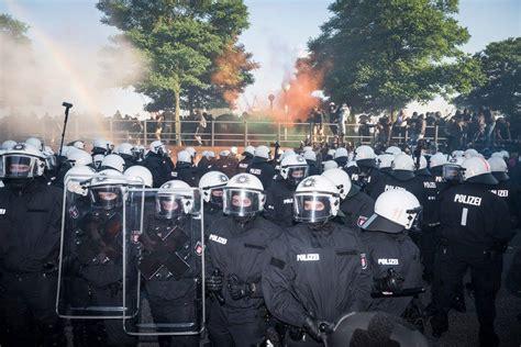 etat de siege g20 hambourg en état de siège