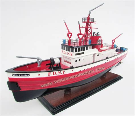 Fireboat Mckean by United States Fireboat New York City D Mckean
