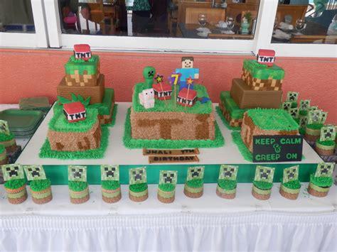 minecraft birthday cake cake decorating community cakes we bake
