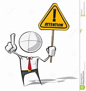 Simple Business People - Attention Stock Vector - Image ...