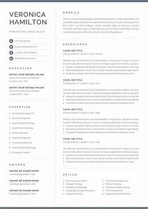 creative resume templates microsoft word free professional resume template compact 1 page resume