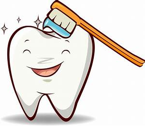 Brush teeth toothbrush with toothpaste clip art at clker ...