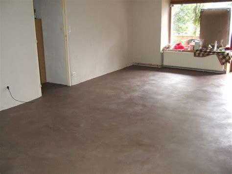 sol cuisine béton ciré pin sol beton cire gris on