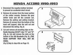 Install Antenna 1991 Honda Accord
