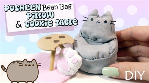 how to miniature pusheen bean bag cookie table tutorial