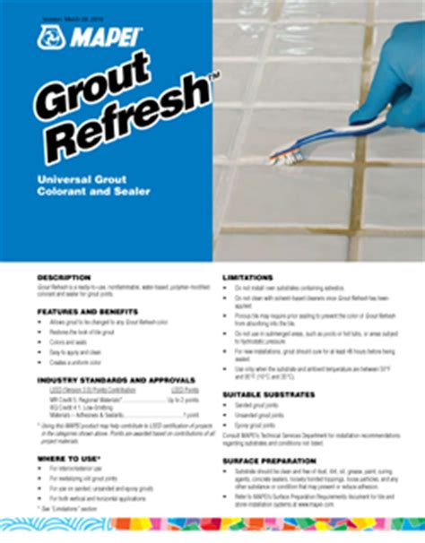 grout refresh mapei grout