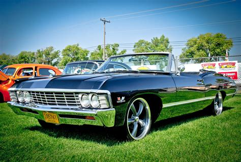 nicest pro touring  impala ss drop top youll