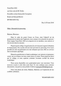 Lettre Demande De Sponsoring : calam o lettre aux sponsors ~ Medecine-chirurgie-esthetiques.com Avis de Voitures