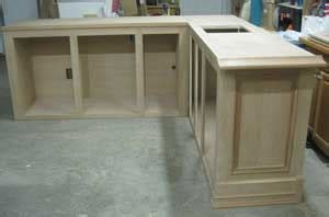 shaped bar woodworking blog  plans