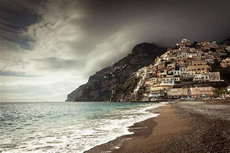 positano village  italy thousand wonders