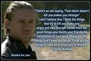 Jax Teller | Quotes and Inspirations | Pinterest | Charlie ...