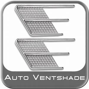 Ab Piece Auto : side vents chrome abs paintable 2 piece set auto ventshade avs 988620 ~ Maxctalentgroup.com Avis de Voitures