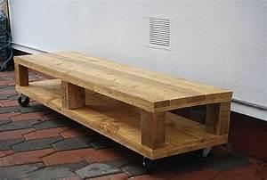 Faire Des Meubles Avec Des Palettes : fabriquer meuble tv palette meuble tv en palettes diy pinterest meubles pinterest ~ Preciouscoupons.com Idées de Décoration